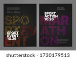 poster layout design with... | Shutterstock .eps vector #1730179513
