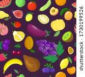 organic vegetable tropical... | Shutterstock .eps vector #1730199526