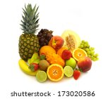 fruit | Shutterstock . vector #173020586