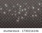 the dust sparks and golden... | Shutterstock .eps vector #1730216146