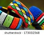 close up of zulu traditional... | Shutterstock . vector #173032568