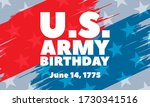 u.s. army birthday june 14.... | Shutterstock .eps vector #1730341516