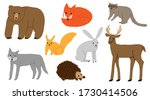 collection set of hand drawn... | Shutterstock .eps vector #1730414506