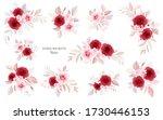 floral bouquets vector bundle....   Shutterstock .eps vector #1730446153