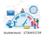 teamwork  people work together  ... | Shutterstock .eps vector #1730451739
