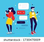 vector creative illustration of ... | Shutterstock .eps vector #1730470009