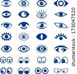 eyes | Shutterstock .eps vector #173047520