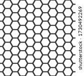 honeycomb pattern. seamless...   Shutterstock .eps vector #1730492269