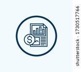 analytics icon isolated on... | Shutterstock .eps vector #1730517766