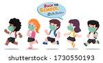 vector illustration of children ... | Shutterstock .eps vector #1730550193