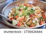 spicy chicken salad or...
