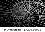 monochrome swirling pattern on... | Shutterstock .eps vector #1730634976
