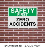 a sign highlighting the... | Shutterstock . vector #173067404