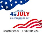fourth of july background  ... | Shutterstock . vector #1730705923