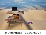 perfect work place | Shutterstock . vector #173075774