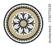 mosaic tile decoration circle... | Shutterstock .eps vector #1730773120