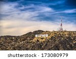 los angeles  california  ... | Shutterstock . vector #173080979