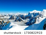 Mont Blanc Massif In The French ...