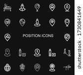editable 22 position icons for...