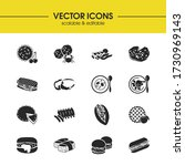 culinary icons set with...