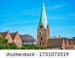 Bremen  Germany. River Weser...