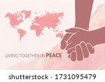 international day of living... | Shutterstock .eps vector #1731095479