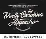 """the north carolina. appache""... | Shutterstock .eps vector #1731199663"