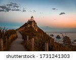 Sunset At Nugget Point...