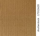 brown corrugated cardboard... | Shutterstock . vector #17312620