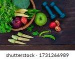 Healthy Food Concept  Fruits...
