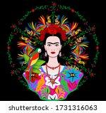 coyoacan  mexico city  mexico   ... | Shutterstock .eps vector #1731316063