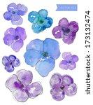 Vector Purple Watercolor...