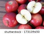 Half Of Gala Apple For Sample...
