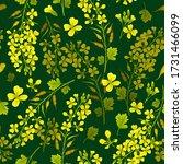 seamless background of flower...   Shutterstock .eps vector #1731466099