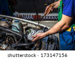 oil change | Shutterstock . vector #173147156