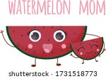 cartoon lovely kind pink... | Shutterstock .eps vector #1731518773