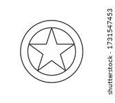 albanian air force roundel....   Shutterstock .eps vector #1731547453