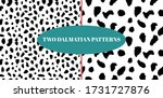dalmatian detailed spotted skin ... | Shutterstock .eps vector #1731727876