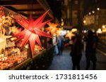 Christmas Stars In A Sale Booth ...