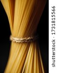 Macro Food. Wheat Pasta On A...