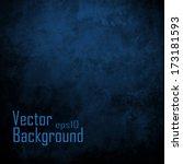 Dark Blue Background. Vector...