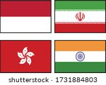 1st country is indonesia. 2nd... | Shutterstock .eps vector #1731884803