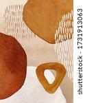 Border. Terracotta  Orange ...