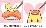 cute character cartoon of a... | Shutterstock .eps vector #1731966433