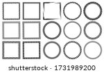 authentic black and white hand... | Shutterstock .eps vector #1731989200