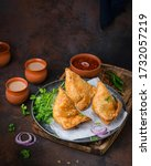 Small photo of The Indian samosa is arguably the most recognizable and widely-available Indian food there is.