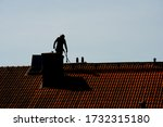 Silhouette Of A Chimney Sweeper ...
