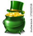 st. patrick's day symbols  ... | Shutterstock .eps vector #173232518