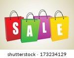sale | Shutterstock .eps vector #173234129