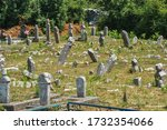 Old Abandoned Cemetery In...